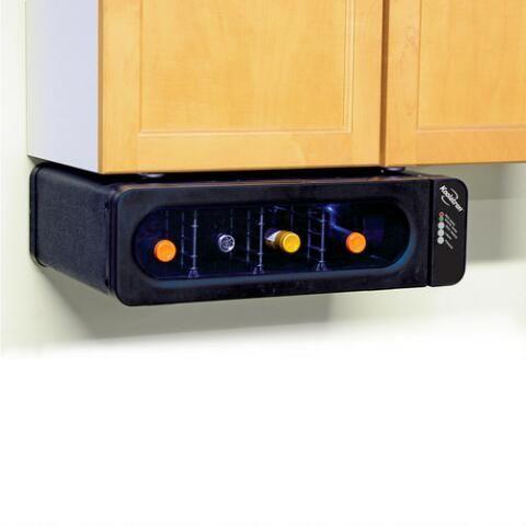 Koolatron Under Counter Mounted Wine Celler with  Glass Door - 4 Bottle Capacity