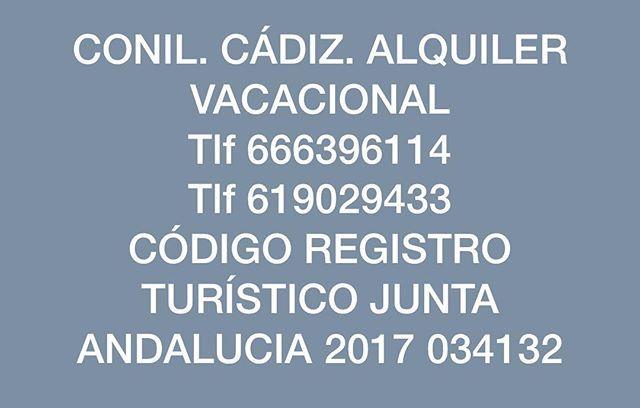 RESERVA YA. PREGUNTA PRECIO SIN COMPROMISO. SOLO ATIENDO LLAMADA DIRECTA O WHATSAPP. #playalacortadura#buenosdias #buenastarde #buenasnoches #feriadelamanzanilla#acebuche#calafell#puertodebarcelona#caladembossa #ventepalsur#restaurante #ventaeltoro#cumbresverdes#salinas #solyplaya#azulturquesa#formentera#acampada#amanecer#cielo#azul#solynubes#percusion#muchoalcohol#playagay#cabodegata#vejer #vejerdelafrontera #montereylocals #salinaslocals- posted by Conil_Cadiz_alquiler Apartamen…