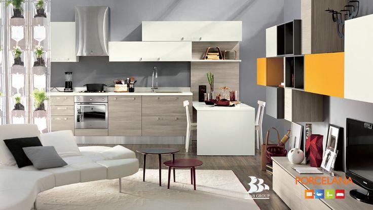 Oltrevisto #Kitchen | #designyourlife @ #Porcelana www.porcelana.gr