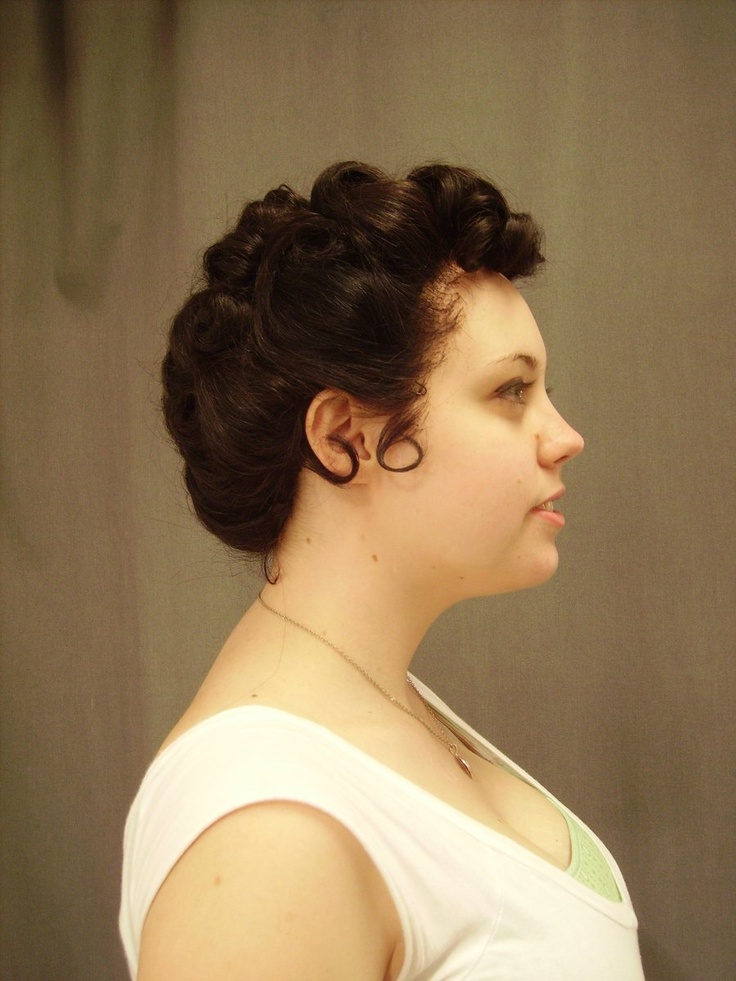 25+ Best 1950s Updo Ideas On Pinterest