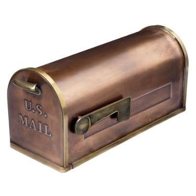 Replacement Mailbox, retain existing post, via Grandin Road.
