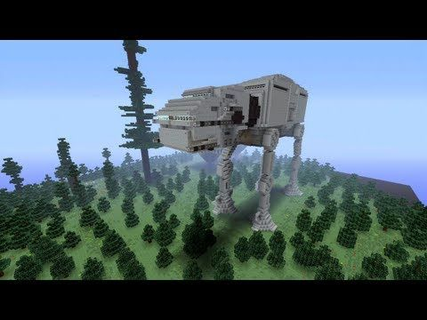 Minecraft Xbox - Walker - Star Wars World Tour - Part 3