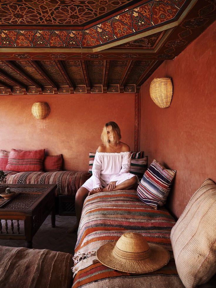 Riad mornings - Morocco