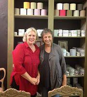 Stockist Ingrid from Palette Decor & Kitchens in Pietermaritzburg, South Africa. #ChalkPaint #AnnieSloan #MoreThanPaint