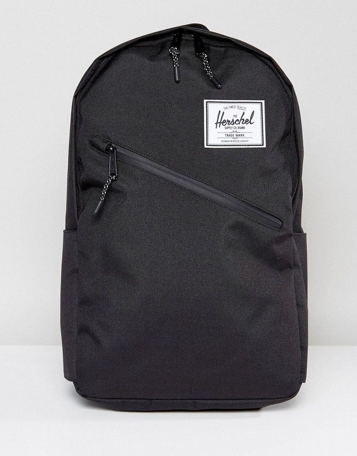 Get this Herschel Supply Co's backpack now! Click for more details. Worldwide shipping. Herschel Supply Co Parker Backpack in Black - Black: Backpack by Herschel Supply Co, Durable canvas outer, Signature lining, Adjustable padded straps, Zip closure, External pocket, Interior slip pocket, Wipe with a damp sponge, 100% Polyester, H: 48cm/19 W: 33cm/13 D: 10cm/4. Herschel Supply Co produces quality built backpacks inspired by vintage mountaineering equipment, American heritage and world…