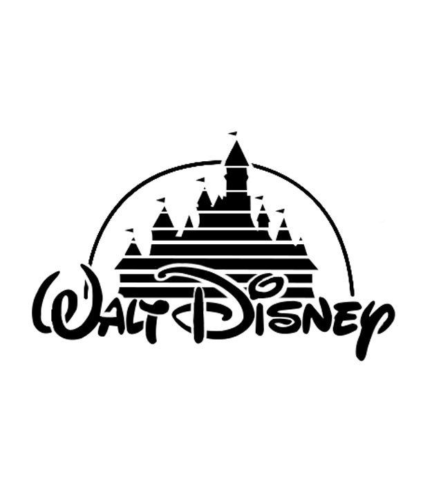 Disney logo pumpkin carving stencil. | 18 Insanely Clever Pop Culture Stencils To Up Your Pumpkin Carving Game