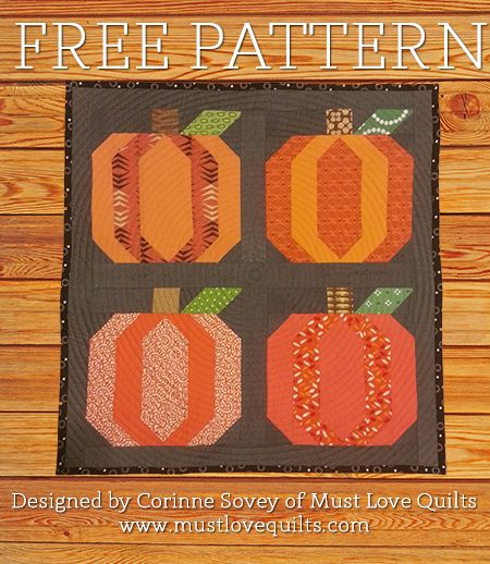 I don't know about y'all, but I LOVE fall. Everything about it. The crisp air, football, leaves turning orange, and of course, pumpkins! I designed this block a few weeks ago and worked one up, but...