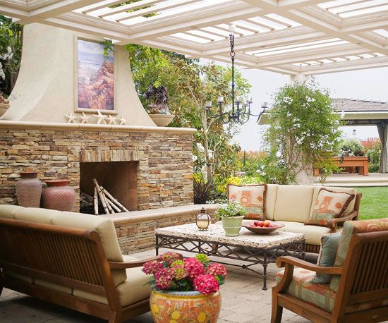 92 Best Beautiful Outdoor Spaces Images On Pinterest