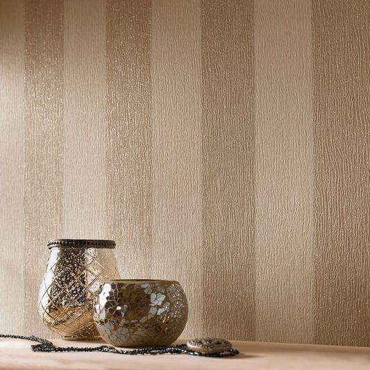 Glitterati Cream and Gold Wallpaper by Graham & Brown