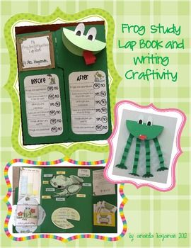 This pack includes two activities to complement a Frog Unit of Study.  Inside you will find:1.Cross-Curricular Frog Themed Lapbook: Lap books a...