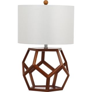 Safavieh Indoor 1-light Delaney Brown Table Lamp | Overstock.com Shopping - The Best Deals on Table Lamps