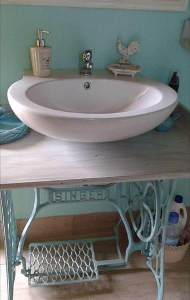 Wasbak vintage 175721 ontwerp inspiratie voor de badkamer en de kamer inrichting - Vintage badkamer ...