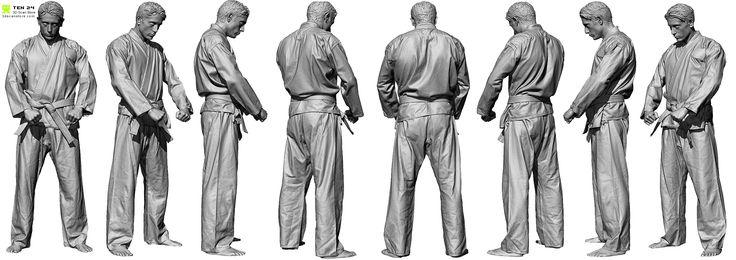 Lineup_01.jpg (2551×902) #3dscan #male #anatomy #character #nimeshbaidhya #3dscanstore