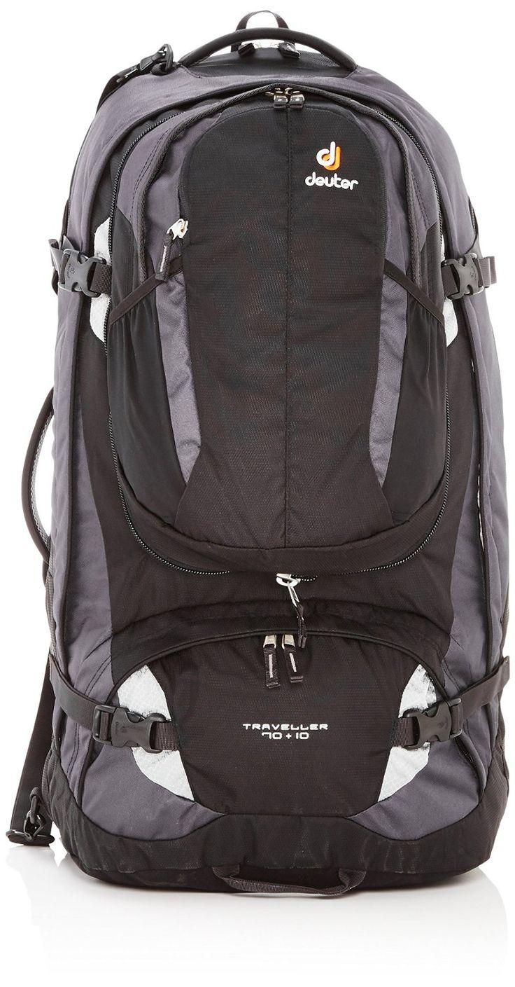Deuter Traveller 70   10 Travel Backpack *** For more information, visit now : Backpacks for hiking