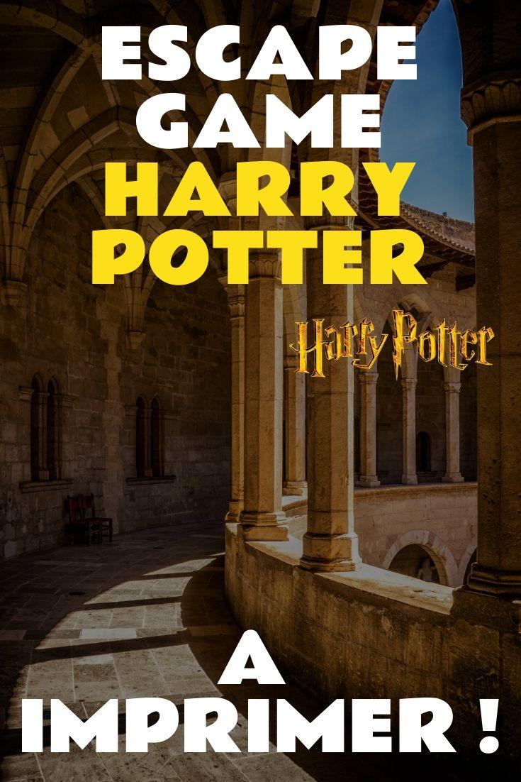 Escape Game Harry Potter A Imprimer Au Format Pdf
