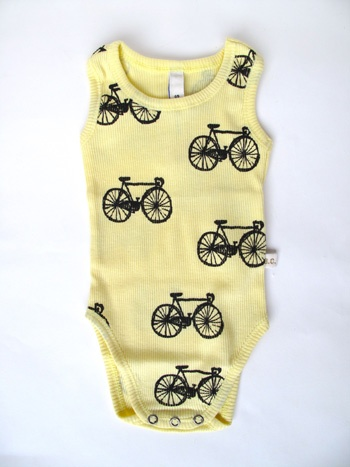 Bicycle onesie. If Michael had a child I would buy them one of these.