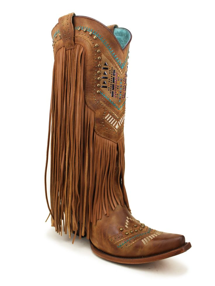 20182017 Boots Roper Womens Fringe and Stud Western Boot Offer