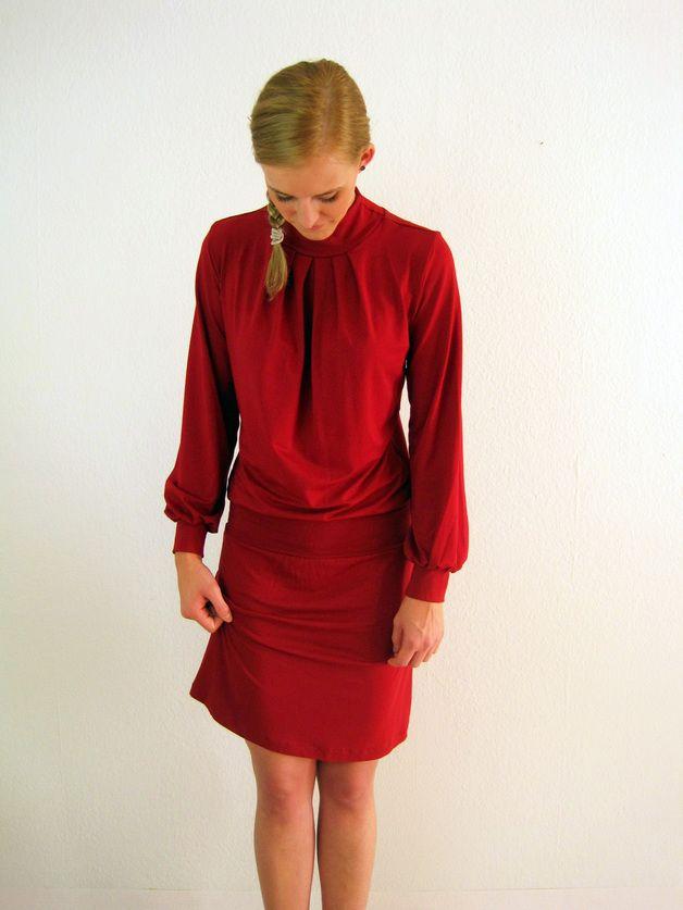 Anna Kleid Rot
