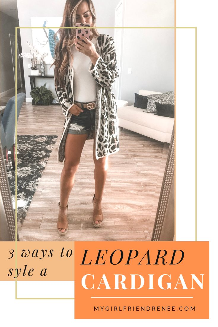 3 Ways to Style a Leopard Cardigan!