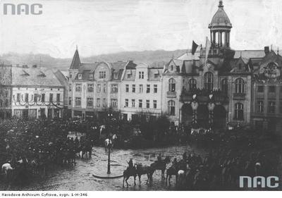 Wkroczenie wojsk polskich do Wejherowa. 10.02.1920 r.