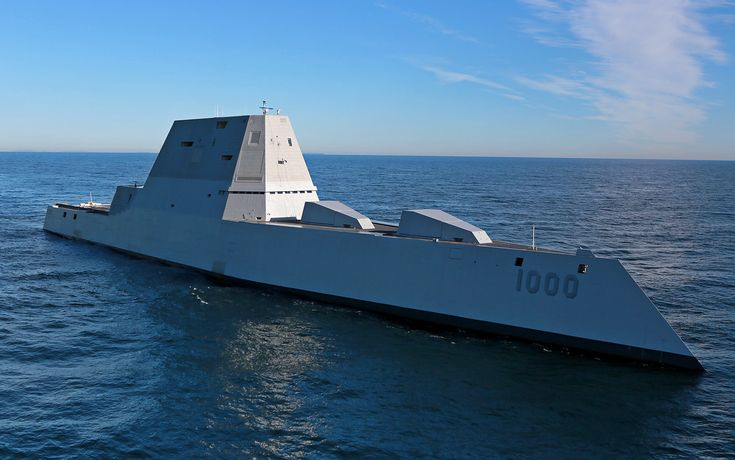 The newly launched USS Zumwalt is a high tech destroyer that may already be a relic.