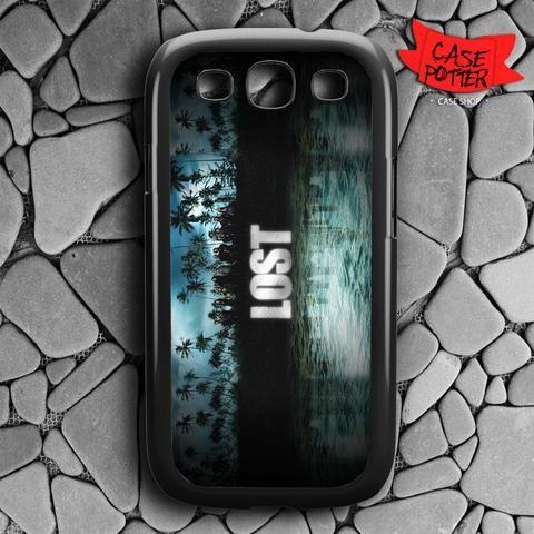 Lost Tv Series Game Samsung Galaxy S3 Black Case
