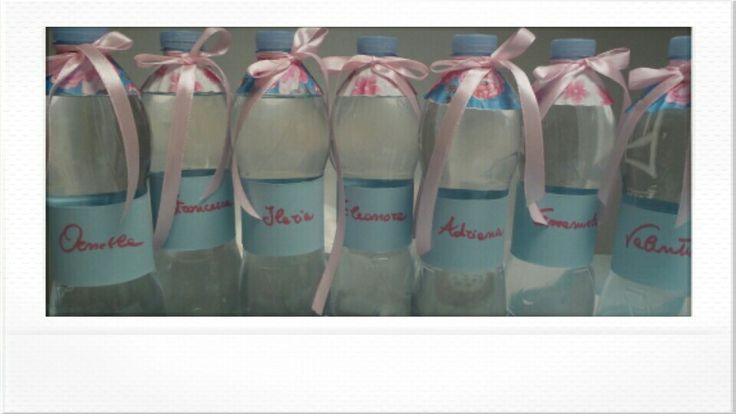 Bottiglie d'acqua personalizzate