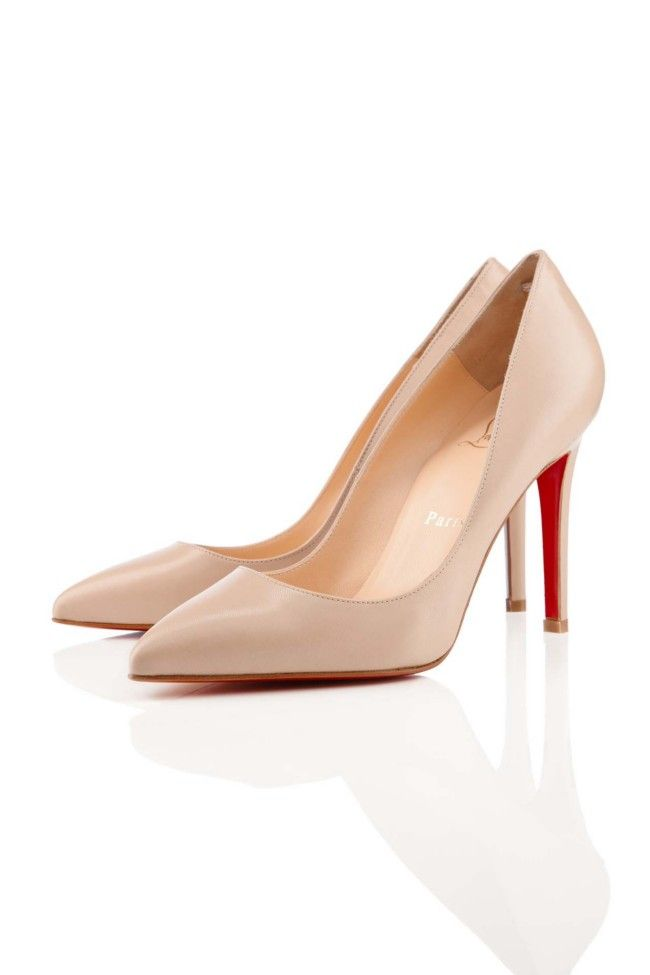 Made to match: Christian Louboutin's new skin-toned shades