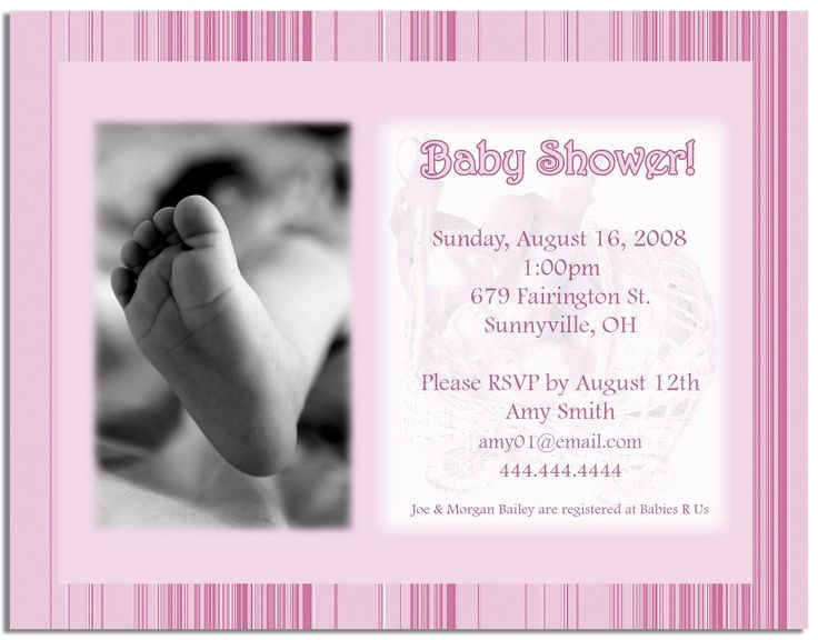 101 best Baby Shower Invitations images on Pinterest