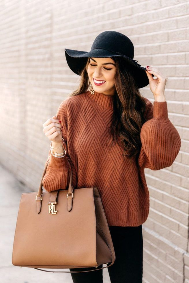 Cozy Caramel Sweater for Fall Must Have Cozy Caramel Knit Sweater. Over the Knee Boots. Boots and Hat for Fall. Autumn Fashion Women Fall Outfits, Plus Size Fall Fashion, Fall Winter Outfits, Winter Fashion, Casual Winter, Classy Outfits, Casual Outfits, Cardigan Outfits, Fall Transition Outfits