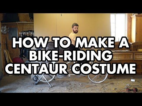 How to build a bike-riding centaur costume - YouTube
