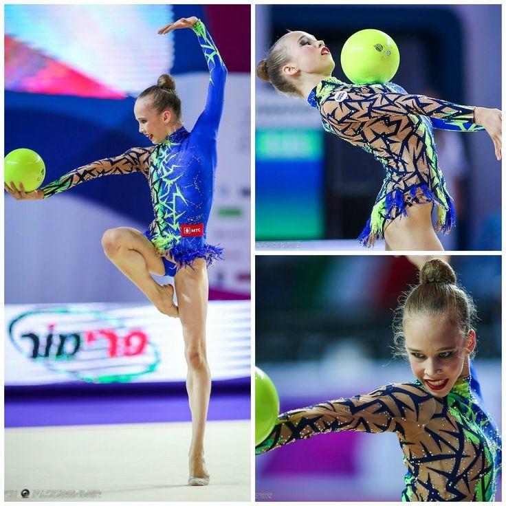 Julia Evchik (Belarus), junior, ball 2016