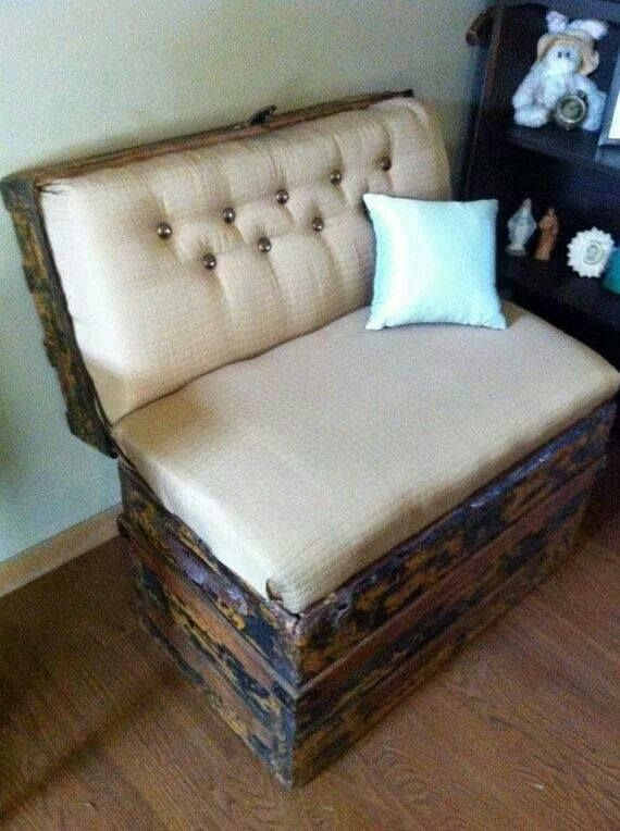 Repurposed Chest!  Do you have a chest that you are looking to do something with?   Look no further