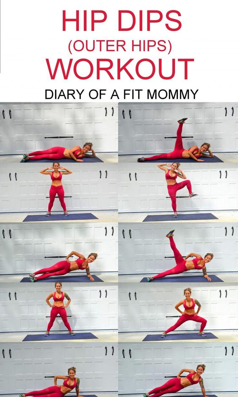 Hip Dips Workout: Exercices pour développer vos muscles de la hanche – Journal d'une maman en forme