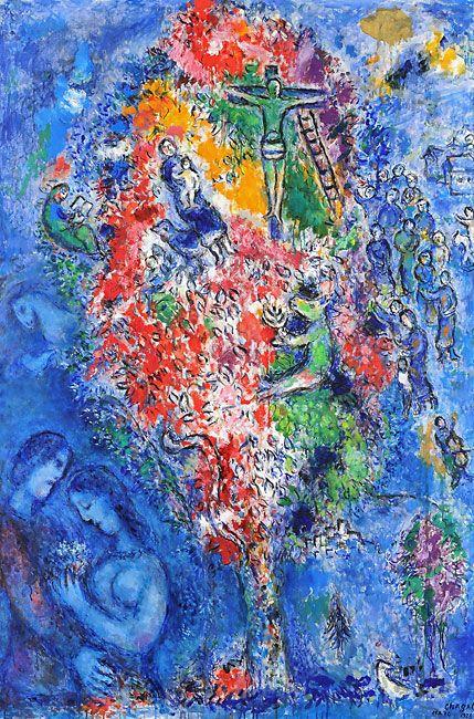 L'Arbre de Jessé - The Tree of Jesse (1975) - Marc Chagall