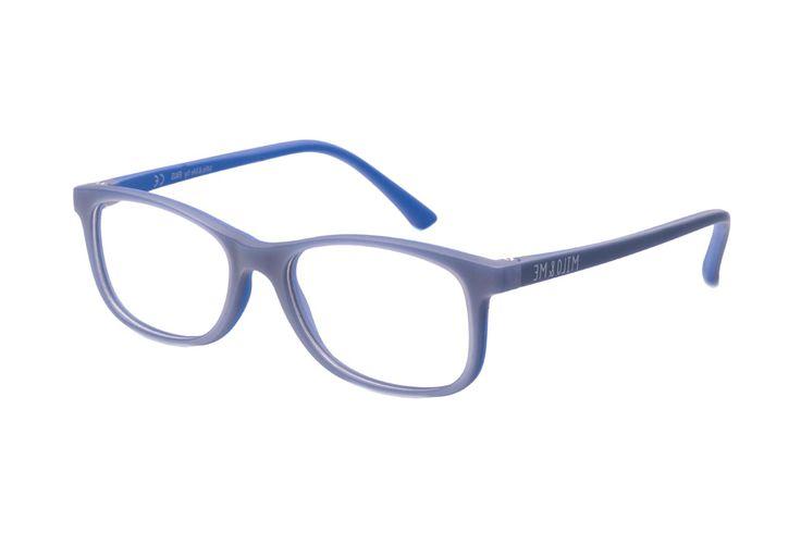 Milo & Me Modell 4 85041 20 Kinderbrille in graublau/blau | Kinderbrillen werden durch ein spezielles Spritzgussverfahren der Materialien TR90 und weichmacherfreiem TPE hergestellt. Sie sitzen perfekt bei allen Aktivitäten in Sport und Freizeit. Material und Design vermindern deutlich...