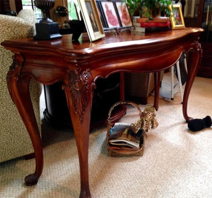 Thomasville furniture kent park sofa table