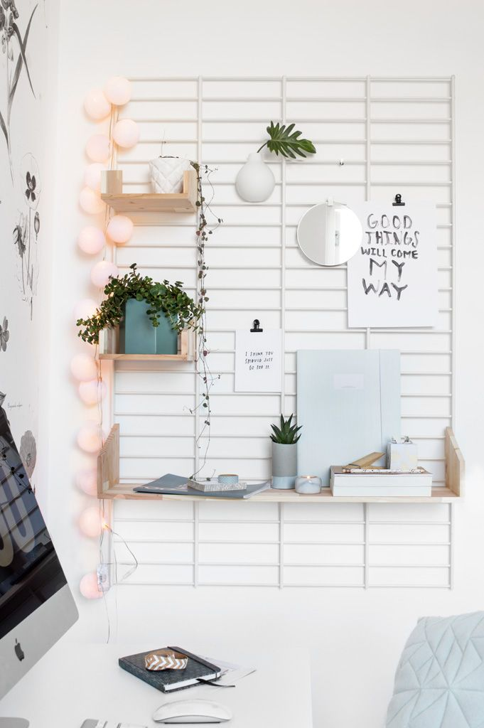 Workspace styling - Tanja van Hoogdalem