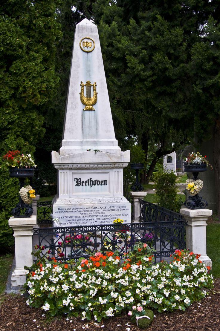 Beethoven's Grave, Vienna, Austria