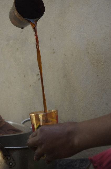 Coffee Touba in Senegal, a widely drank sweetened and spicy coffee.  From PRI's The World, via Flickr