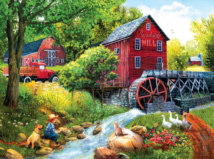 Playing Hookey Jigsaw Puzzle Jigsaw Puzzles Difficult Jigsaw Puzzles Jigsaw