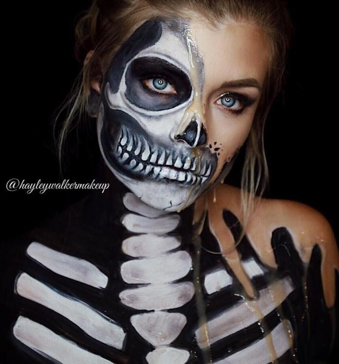 Best 25+ Beautiful halloween makeup ideas on Pinterest | Haloween ...