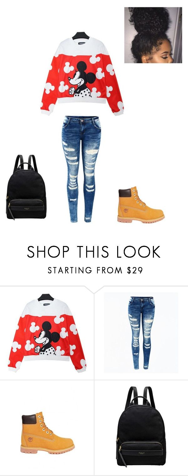 """My First"" by babykookie971 on Polyvore featuring mode, Timberland et Radley"