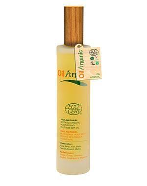 Увлажняющее легкое масло, OilArganic