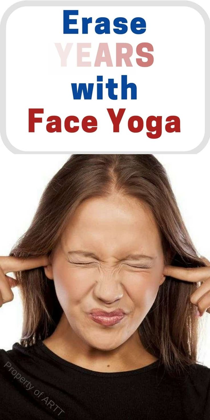 These face yoga poses really help release tension in the body and mind.