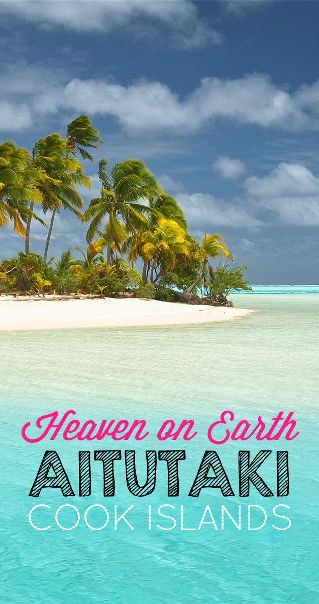 Heaven on Earth: Aitutaki, Cook Islands   The Cook Islands are stunningly beautiful. Discover the fantastic colors of Aitutaki and get lost in a dreamland that looks better than any postcard you have ever seen. - via @Just1WayTicket -  Photo Credit © e t d j t™ pictures   Patrick Jaussi