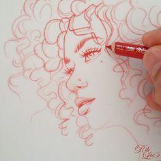 Ich zeichne fast immer …