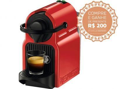 Cafeteira Espresso 19 Bar Nespresso Inissia - Vermelha Rubi com as melhores condições você encontra no Magazine Jc79. Confira!