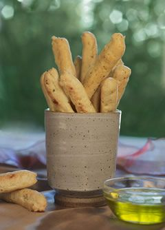 Gluten-free Herb and Garlic Breadsticks. This is the easiest gluten-free recipe I've found for these.