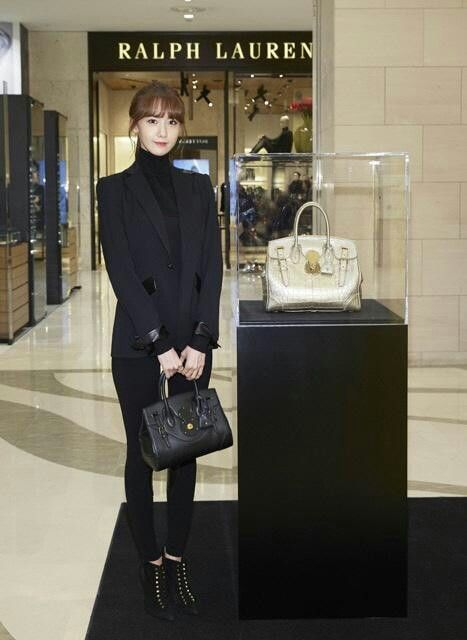 Yoona at Ralph Lauren event